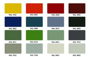 Cores ral